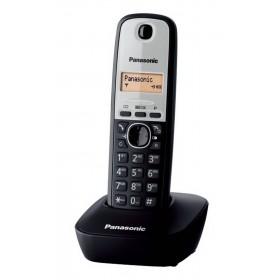 Ασύρματο Ψηφιακό Τηλέφωνο Panasonic KX-TG1611 Μαύρο-Ασημί