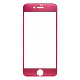 Tempered Glass Ancus Full Face Titanium 0.3 mm 9H για Apple iPhone 6/6S/7/8 Κόκκινο