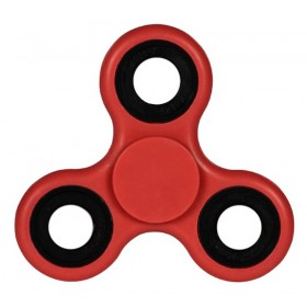 Fidget Spinner ABS Plastic 3 Leaves Κόκκινο 2.5 min