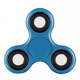 Fidget Spinner ABS Plastic 3 Leaves Μπλέ 2.5 min