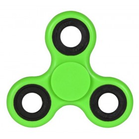 Fidget Spinner ABS Plastic 3 Leaves Πράσινο 2.5 min