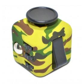Fidget Cube 6 Sides Πράσινο