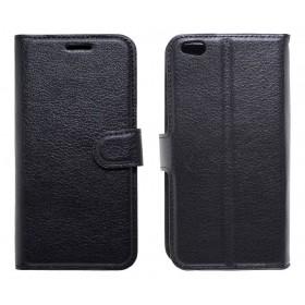 Θήκη Book Ancus Teneo για Xiaomi Mi 5c TPU Μαύρη