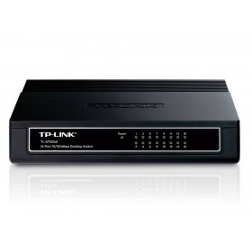 Ethernet Switch TP-Link TL-SF1016D V:6.0 10/100Mbps 16 Port 5V 600mA v6.0