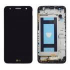 Γνήσια Οθόνη & Μηχανισμός Αφής LG X Power 2 M320N Black Titan ACQ89631801