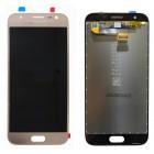 Γνήσια Οθόνη & Μηχανισμός Αφής Samsung SM-J330F Galaxy J3 (2017) Χρυσαφί GH96-10990A