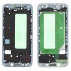 Πλαίσιο Οθόνης Samsung SM-J730F Galaxy J7 (2017) Ασημί Original GH98-41296B