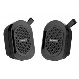 Φορητό Ηχείο Εξωτερικού Χώρου Bluetooth Jabees beatBOX Mini TWS 2 x 3W IPX4 Μαύρο με Ανοιχτή Ακρόαση και Audio-in