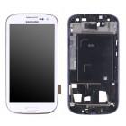Οθόνη & Μηχανισμός Αφής Samsung i9301 Galaxy S3 Neo ( S III Neo ) Λευκό OEM Type A