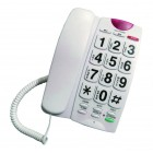 Σταθερό Ψηφιακό Τηλέφωνο Noozy Phinea N27 με Μεγάλα Πλήκτρα, Ανοιχτή Ακρόαση και Πλήκτρο Άμεσης Ανάγκης