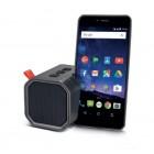 Φορητό Ηχείο Bluetooth Maxton Erebus MX 5W Γκρί με Ανοιχτή Ακρόαση, Audio-in, MicroSD και Βάση Στήριξης Κινητού