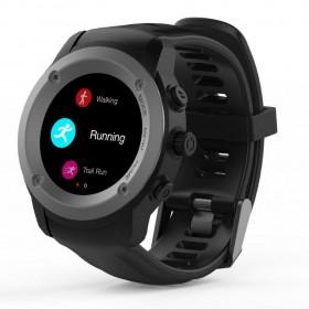 Maxcom Smartwatch FitGo FW17 Power IPX54 Μαύρο Silicon Band