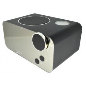 Φορητό Ηχείο Bluetooth Musky DY39 με Ξυπνητήρι, Ραδιόφωνο, Θερμοκρασία, Ανοιχτή Ακρόαση και Υποδοχή USB, AUX, Κάρτα Μνήμης