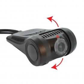 Καταγραφική Κάμερα Αυτοκινήτου RS301 με 2 Κάμερες (Μπροστά/Πίσω) 1080p/30fps WiFi, FullHD, Γωνία Λήψης 170°, Νυχτερινή Λειτουργία, Καταγραφή Φωτό & Βίντεο
