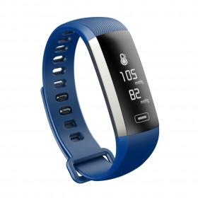 Maxcom Smartband FitGo FW11 Light IP67 Μαύρο Silicon Band. Επιπλέον Λουράκι Μπλε