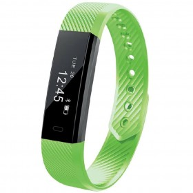Maxcom Smartband FitGo FW10 Active IP55 Πράσινο Silicon Band