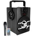 Φορητό Ηχείο Bluetooth Media-Tech Boombox PRO BT MT3159 850W, με Τηλεχειριστήριο, Μικρόφωνο, Ενσωματωμένο Ραδιόφωνο, Micro SD Card, AUX, MP3, USB και LED οθόνη