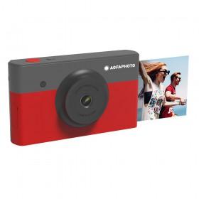 Φωτογραφική Μηχανή Agfa Mini Shot 2X3 Κόκκινη 10MP Bluetooth LCD 1.77