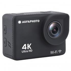 Φωτογραφική Μηχανή Agfa Action Cam AC9000 Μαύρη Wifi με Ανάλυση 4Κ